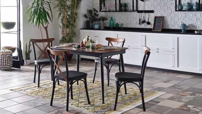 matris mondi mutfak masa sandalye takımı