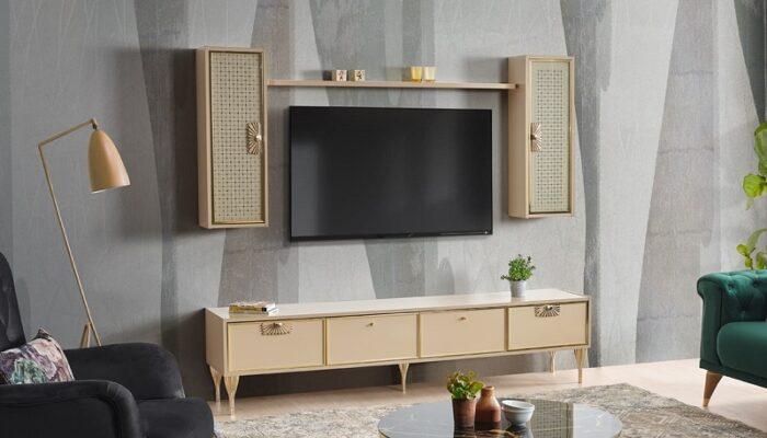 mıami ipek mobilya tv duvar ünitesi