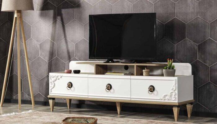 milena ipek mobilya tv duvar ünitesi