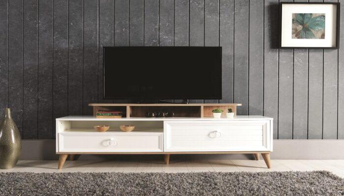 zeta ipek mobilya tv duvar ünitesi